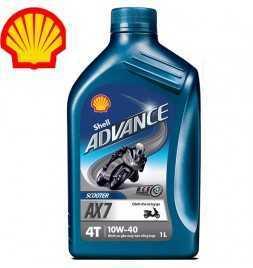 Shell Advance 4T AX 7 10W40 SLMA2 Latta da 1 litro