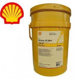 Shell Advance 4T Ultra 15W50 SMMA2 Secchio da 20 litri