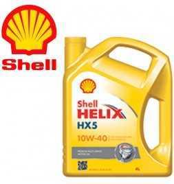 Shell Helix HX5 15W-40 (SN A3/B3) Latta da 4 litri