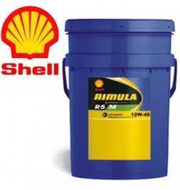 Shell Rimula R5M 10W40 E4 228.5 Secchio da 20 litri