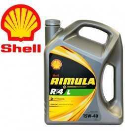 Shell Rimula R4 L 15W40 CJ4 Latta da 4 litri