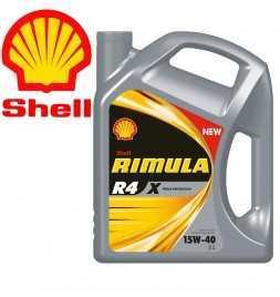 Shell Rimula R4X 15W40 CI4 E7 DH1 Latta da 5 litri