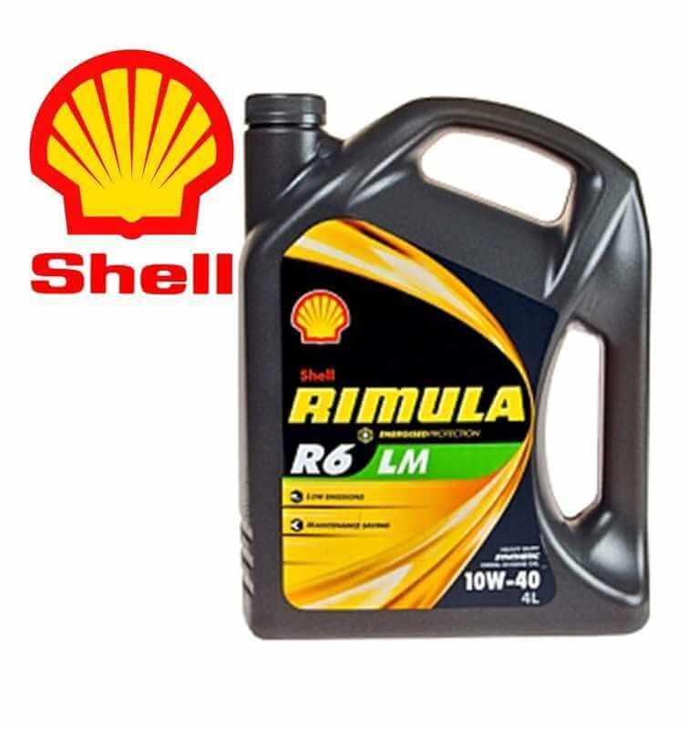 Shell Rimula R6LM10W40 E7 228.51 Latta da 4 litri