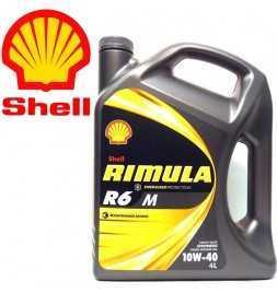 Shell Rimula R6M 10W40 E7 228.5 Latta da 4 litri