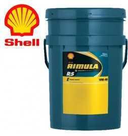 Shell Rimula R5E 10W40 CI4 228.3 Secchio da 20 litri