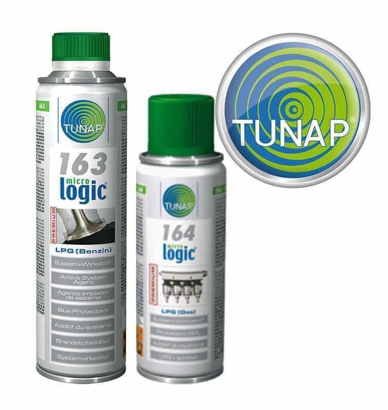 TUNAP 163 + 164 Addtivi per Auto Doppia Alimentazione benzina/gpl /metano