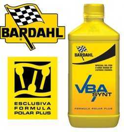 Olio Miscela Bardahl VBA SYNT 100 % Sintetico latta 1- olio 2 tempi