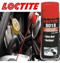 LOCTITE LB 8018 - Lubrificante antiruggine Sbloccante accoppiamenti filettati e parti in metallo