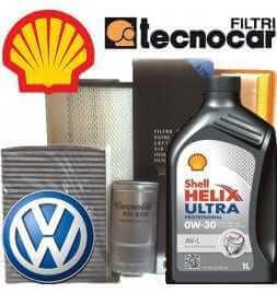 VW POLO V serie1.2 Kit Cambio olio e Filtri
