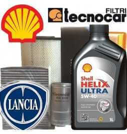 Lancia YPSILON I 1.2 16V Kit Cambio olio e Filtri