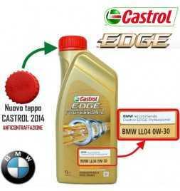 Olio Motore Auto Castrol EDGE Professional BMW LL04 0W30 ACEA C3 - 1 litro lt