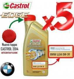 Olio Motore Auto Castrol EDGE Professional BMW LL04 0W30 ACEA C3 - 5 litri lt