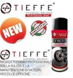 Pulitore Detergente per impianti frenanti pulizia di freni a tamburo, disco, pinze, ceppi, frizioni
