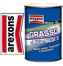 AREXONS GRASSO AL LITIO NLGI 3 0,85KG MOZZI TRASMISSIONI CUSCINETTI