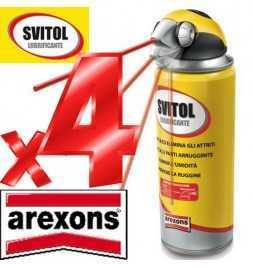 4x Svitol - Arexons sboccante Multiuso Lubrificante Antiossidante 400 ml - 4129