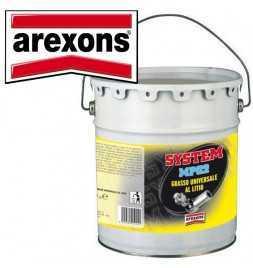 Arexons Grasso Lubrificante Universale al litio 5Kg Cuscinetti Camme Perni MPG2