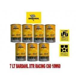 Olio Motore Auto-Bardahl XTR 39.67 Racing c60 10W-60 - Super Offerta 7 litri