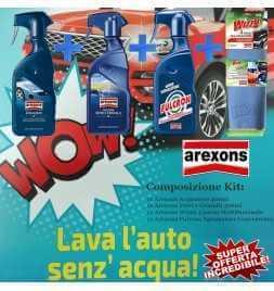 AREXONS 8362 ACQUA ZERO LAVA,LUCIDA E PROTEGGE SENZA BISOGNO DELL/'ACQUA