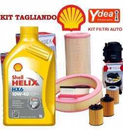Tagliando cambio olio e Filtri  YPSILON (843) 1.3 Multijet 55KW/75CV (mot.199A9.000)