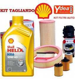 Tagliando cambio olio e Filtri  YPSILON (846) 1.3 Multijet 70KW/95CV (mot.199B1.000)