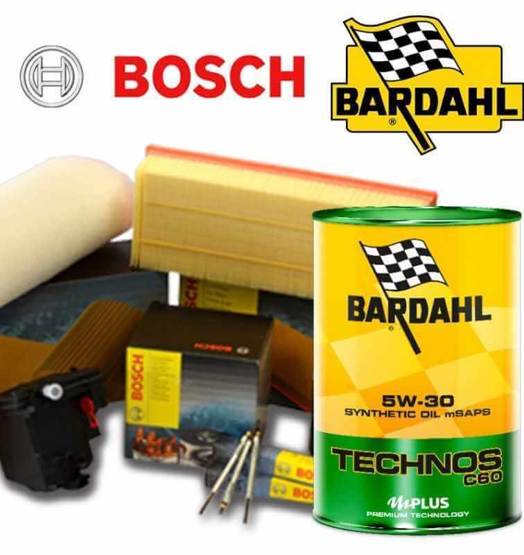 Cambio olio motore 5w30 BARDHAL TECHNOS C60 e Filtri Bosch DS3 1.6 HDI FAP 82KW/112CV (mot.DV6DTED)