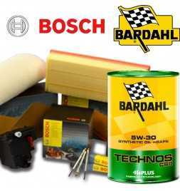Cambio olio motore 5w30 BARDHAL TECHNOS C60 e Filtri Bosch DS3 1.6 HDI FAP 68KW/92CV (mot.DV6CTED)
