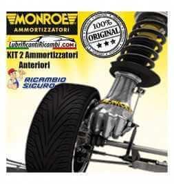 KIT 2 Ammortizzatori MONROE ORIGINAL Per Fiat Punto 1.2 16V 59 KW - 2 Anteriori