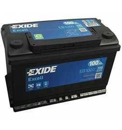 copy of BATTERIA PER AUTO EXIDE EXCELL EB740 74Ah SPUNTO 680A POLO + POSITIVO A DX