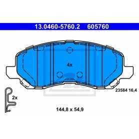 ATE Kit de plaquettes de frein, frein à disque 13.0460-5760.2