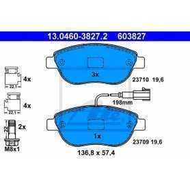 ATE Brake Pad Set, disc brake 13.0460-3827.2