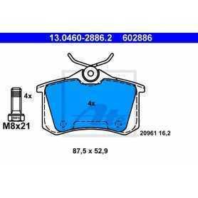 ATE Brake Pad Set, disc brake 13.0460-3857.2