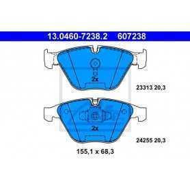 Kit Pastiglie Freni ATE , freno a disco 13.0460-7238.2