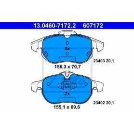 Kit Pastiglie Freni ATE , freno a disco 13.0460-7172.2