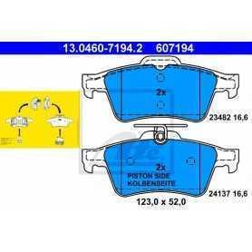 Kit Pastiglie Freni ATE , freno a disco 13.0460-7194.2