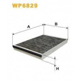 Filtro, Aria abitacolo WIX FILTERS codice WP6829