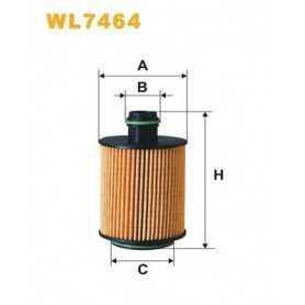 Filtro olio WIX FILTERS codice WL7464