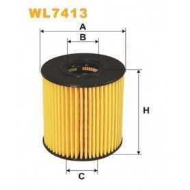 Filtro olio WIX FILTERS codice WL7413