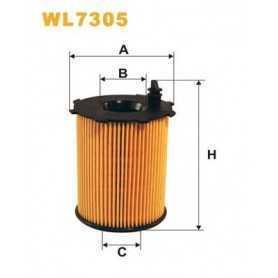 Filtro olio WIX FILTERS codice WL7305