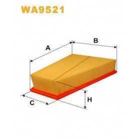 Filtro aria WIX FILTERS codice WA9521
