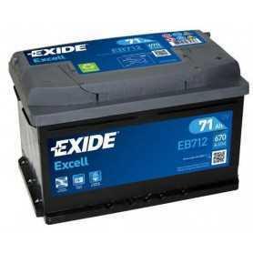 Batteria avviamento EXIDE codice EB712