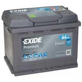 Batterie de démarrage EXIDE code EA640