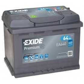 EXIDE Starterbatteriecode EA640