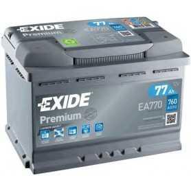 Batteria avviamento EXIDE codice EA770