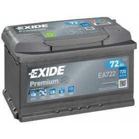 Batteria avviamento EXIDE codice EA722