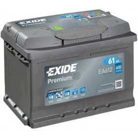 Batteria avviamento EXIDE codice EA612