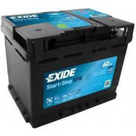 Batterie de démarrage EXIDE code EL600