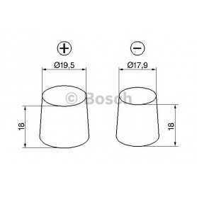 Batteria avviamento BOSCH codice 0 092 S50 080