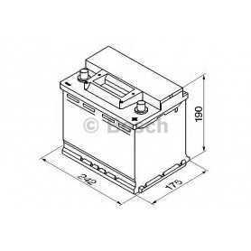 Batteria avviamento BOSCH codice 0 092 S30 050