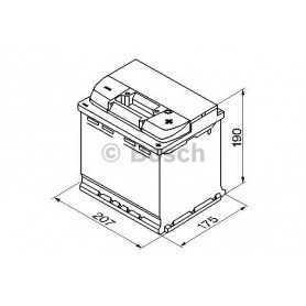 Batterie de démarrage BOSCH code 0092 S50 020