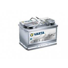 Batteria avviamento VARTA Silver Dynamic E39 AGM 70AH 760A codice 570901076